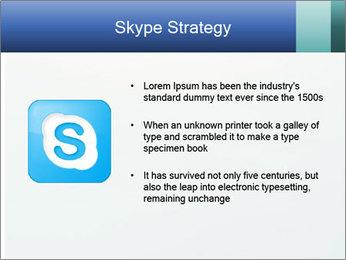 Winter minimalist landscape PowerPoint Template - Slide 8