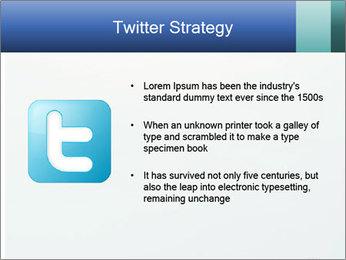 Winter minimalist landscape PowerPoint Template - Slide 9
