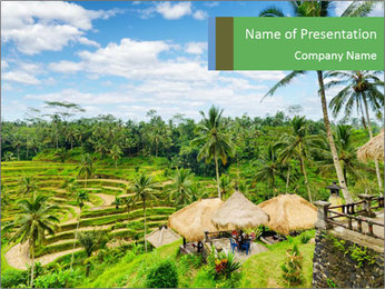 Bali Island PowerPoint Template - Slide 1