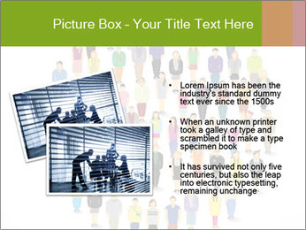 A large group of pixel people icon design PowerPoint Template - Slide 20