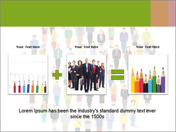 A large group of pixel people icon design PowerPoint Template - Slide 22