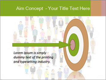A large group of pixel people icon design PowerPoint Template - Slide 83
