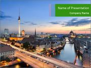 Berlin skyline PowerPoint Templates