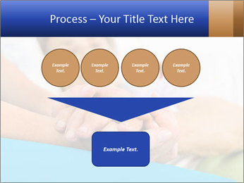 Caring nurse holding kind elderly lady's hands PowerPoint Templates - Slide 93