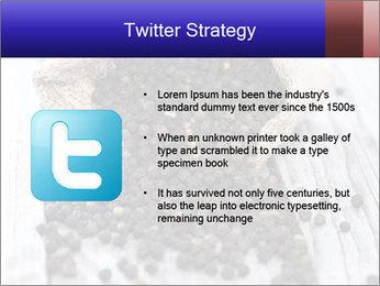 Fresh Black Pepper PowerPoint Template - Slide 9