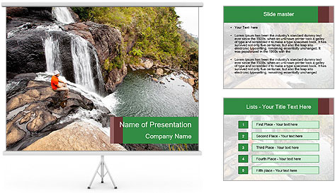 National Park, Sri Lanka PowerPoint Template