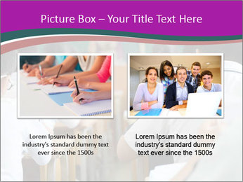 Group of middle school studying in classroom PowerPoint Templates - Slide 18