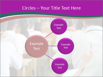 Group of middle school studying in classroom PowerPoint Template - Slide 79