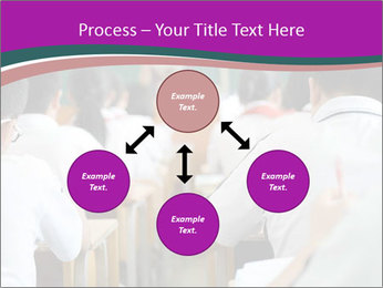 Group of middle school studying in classroom PowerPoint Template - Slide 91