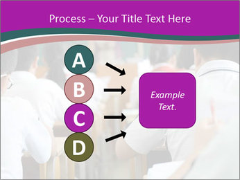 Group of middle school studying in classroom PowerPoint Template - Slide 94