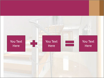 Modern hall interior with stair PowerPoint Template - Slide 95