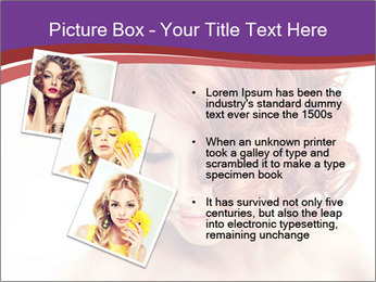 A girl hesitates PowerPoint Template - Slide 17