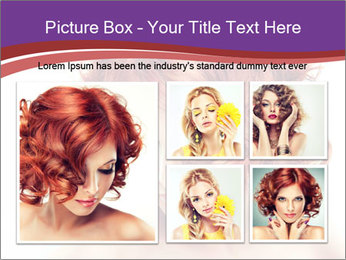 A girl hesitates PowerPoint Template - Slide 19