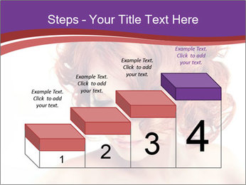 A girl hesitates PowerPoint Template - Slide 64