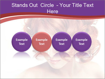 A girl hesitates PowerPoint Template - Slide 76