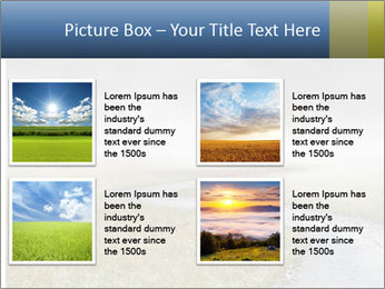 Beautiful landscape with a isolated tree PowerPoint Templates - Slide 14