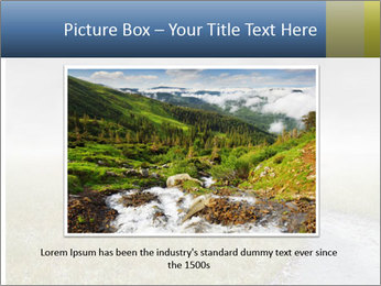 Beautiful landscape with a isolated tree PowerPoint Template - Slide 16