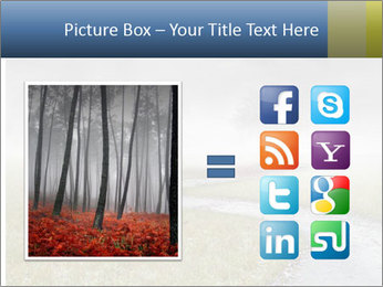 Beautiful landscape with a isolated tree PowerPoint Template - Slide 21