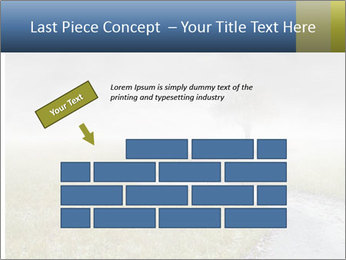 Beautiful landscape with a isolated tree PowerPoint Template - Slide 46