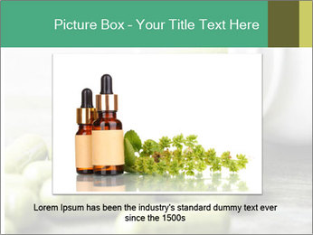 Herb capsule spilling PowerPoint Templates - Slide 16