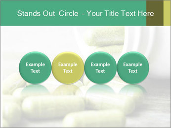 Herb capsule spilling PowerPoint Template - Slide 76