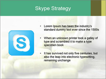 Herb capsule spilling PowerPoint Templates - Slide 8