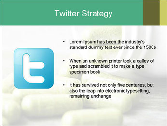 Herb capsule spilling PowerPoint Templates - Slide 9