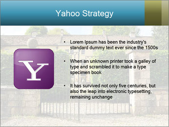 Gated Entrance PowerPoint Template - Slide 11