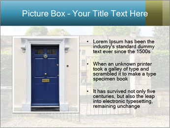 Gated Entrance PowerPoint Template - Slide 13