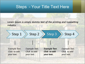 Gated Entrance PowerPoint Templates - Slide 4