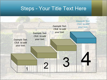 Gated Entrance PowerPoint Template - Slide 64