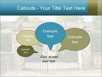 Gated Entrance PowerPoint Templates - Slide 73