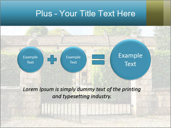 Gated Entrance PowerPoint Template - Slide 75