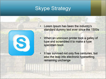 Gated Entrance PowerPoint Template - Slide 8