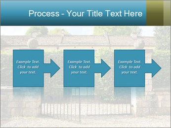 Gated Entrance PowerPoint Template - Slide 88