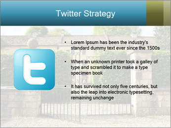 Gated Entrance PowerPoint Template - Slide 9