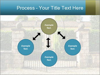 Gated Entrance PowerPoint Template - Slide 91