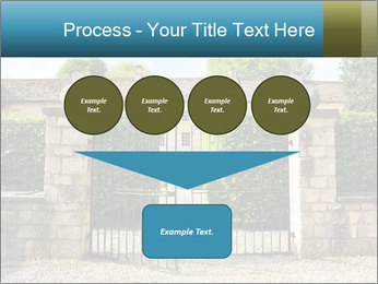 Gated Entrance PowerPoint Template - Slide 93
