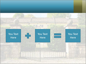 Gated Entrance PowerPoint Template - Slide 95