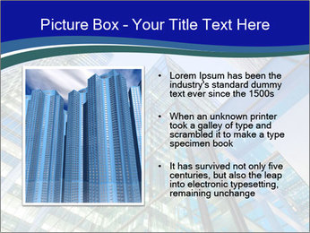 Windows of Skyscraper Business Office PowerPoint Templates - Slide 13