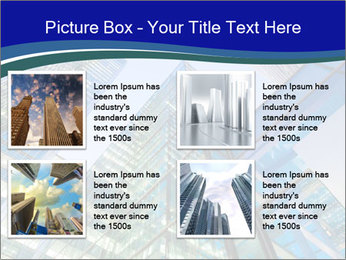 Windows of Skyscraper Business Office PowerPoint Templates - Slide 14
