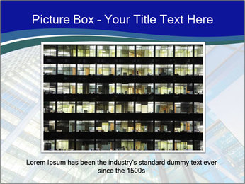 Windows of Skyscraper Business Office PowerPoint Templates - Slide 15