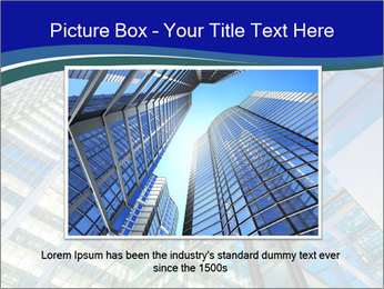 Windows of Skyscraper Business Office PowerPoint Templates - Slide 16