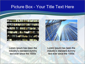 Windows of Skyscraper Business Office PowerPoint Templates - Slide 18