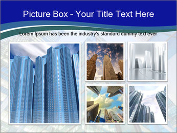 Windows of Skyscraper Business Office PowerPoint Templates - Slide 19