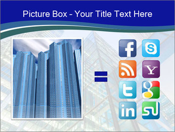 Windows of Skyscraper Business Office PowerPoint Templates - Slide 21