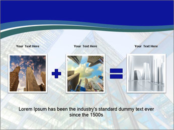 Windows of Skyscraper Business Office PowerPoint Templates - Slide 22
