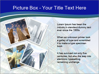 Windows of Skyscraper Business Office PowerPoint Templates - Slide 23