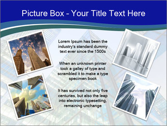 Windows of Skyscraper Business Office PowerPoint Templates - Slide 24