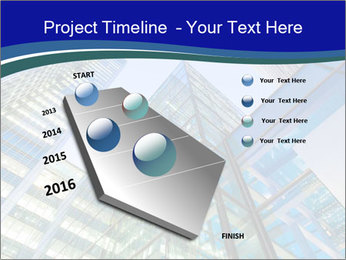 Windows of Skyscraper Business Office PowerPoint Templates - Slide 26